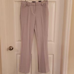 NWT Express Columnist Barely Boot Dress Pants-Gray